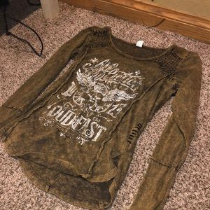 Unknown brand long sleeve woman's shirt